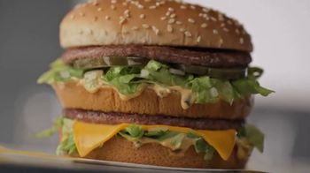 McDonald's Big Mac TV Spot, 'Fans: Video'