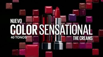 Maybelline New York Color Sensational The Creams TV Spot, 'Nueva sensación' [Spanish] - Thumbnail 9