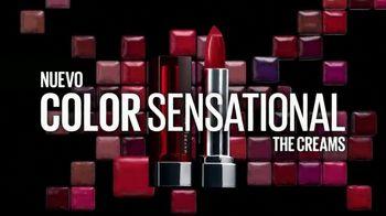 Maybelline New York Color Sensational The Creams TV Spot, 'Nueva sensación' [Spanish] - Thumbnail 4