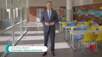 Comcast Corporation TV Spot, 'Telemundo: latinos' con José Diaz-Balart [Spanish]