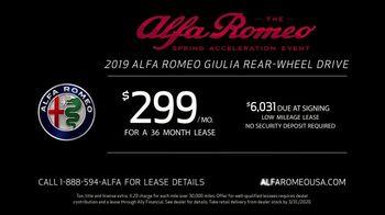 Alfa Romeo Spring Acceleration Event TV Spot, 'Type A: Giulia' Featuring Alexander Skarsgård [T2] - Thumbnail 9