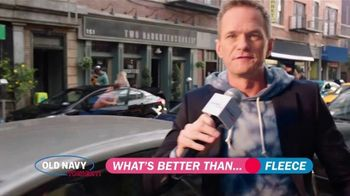 Old Navy TV Spot, 'What's Better Than Fleece?: 40 Percent Off' Featuring Neil Patrick Harris - Thumbnail 2