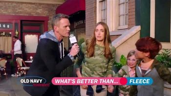 Old Navy TV Spot, 'What's Better Than Fleece?: 40 Percent Off' Featuring Neil Patrick Harris - Thumbnail 4