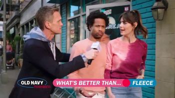 Old Navy TV Spot, 'What's Better Than Fleece?: 40 Percent Off' Featuring Neil Patrick Harris - Thumbnail 6