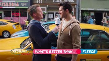 Old Navy TV Spot, 'What's Better Than Fleece?: 40 Percent Off' Featuring Neil Patrick Harris - 355 commercial airings