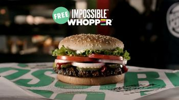 Burger King Impossible Whopper TV Spot, 'Wait Until You Try It For Free' - Thumbnail 9