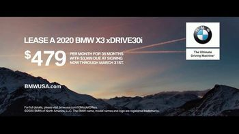 BMW TV Spot, 'The Ultimate Range' [T1] - Thumbnail 10