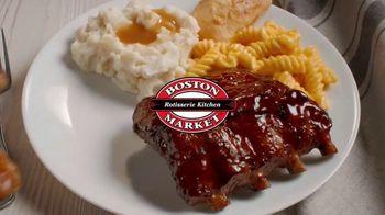 Boston Market Baby Back Ribs TV Spot, 'Fuego lento' [Spanish] - Thumbnail 7