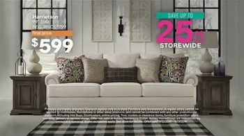 Ashley HomeStore Black Friday Sale TV Spot, 'Storewide Discount and Financing' Song by Midnight Riot - Thumbnail 3