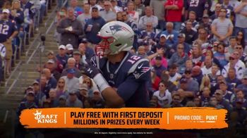 DraftKings TV Spot, 'NFL Sweat' - Thumbnail 5