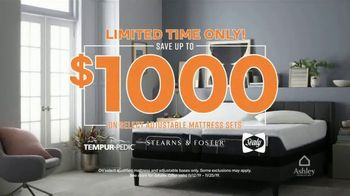 Ashley HomeStore Black Friday Mattress Sale TV Spot, 'Save up to $1,000' Song by Midnight Riot - Thumbnail 2