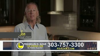 Franklin D. Azar & Associates, P.C. TV Spot, \'Jan: On My Way Home\'