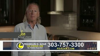 Franklin D. Azar & Associates, P.C. TV Spot, 'Jan: On My Way Home' - Thumbnail 1