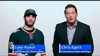 JDRF TV Spot, 'Join the Fight' Featuring Chris Egert and Luke Kunin - Thumbnail 1