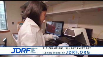 JDRF TV Spot, 'Join the Fight' Featuring Chris Egert and Luke Kunin - Thumbnail 4