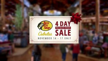 Bass Pro Shops 4-Day Pre-Black Friday Sale TV Spot, 'Cloth Shirts, Pajama Sets and Gift Cards' - Thumbnail 5