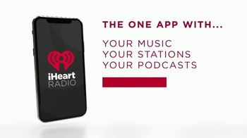 iHeartRadio App TV Spot, 'Yours' - Thumbnail 8