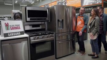 The Home Depot Black Friday Savings TV Spot, 'Electrodomésticos GE' [Spanish]