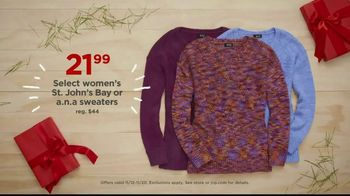 JCPenney TV Spot, 'Unwrap More Cozy: Comforter and Sweaters' - Thumbnail 8