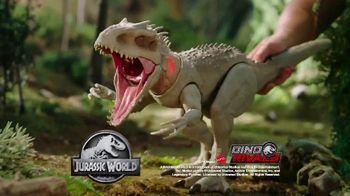 Jurassic World Dino Rivals Destroy 'n Devour Indominus Rex TV Spot, 'Neck Glows Red' - Thumbnail 8