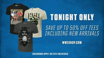 WWE Shop TV Spot, 'Bring the Action: 50 Percent Off New Arrival Tees' Song by SATV Music - Thumbnail 6