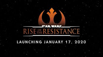 Star Wars: Rise of the Resistance TV Spot, 'Launching' - 42 commercial airings