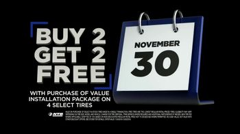 National Tire & Battery Black Friday TV Spot, 'Buy Two, Get Two: $75 Rebate and Oil Change' - Thumbnail 6