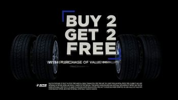 National Tire & Battery Black Friday TV Spot, 'Buy Two, Get Two: $75 Rebate and Oil Change' - Thumbnail 2