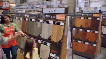 The Home Depot TV Spot, 'On Trend Styles: Vinyl Plank'