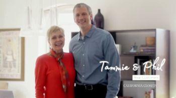 California Closets TV Spot, 'Tammie & Phil: Downsizing' - Thumbnail 1