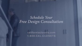 California Closets TV Spot, 'Tammie & Phil: Downsizing' - Thumbnail 10