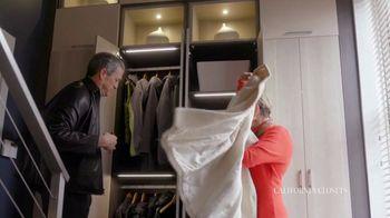 California Closets TV Spot, 'Tammie & Phil: Downsizing' - Thumbnail 2