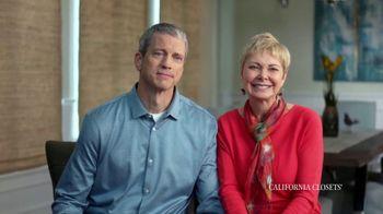 California Closets TV Spot, 'Tammie & Phil: Downsizing' - Thumbnail 3