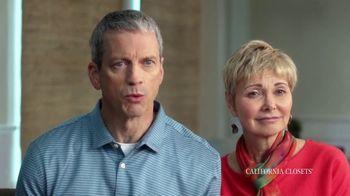California Closets TV Spot, 'Tammie & Phil: Downsizing' - Thumbnail 4