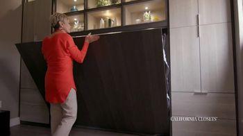 California Closets TV Spot, 'Tammie & Phil: Downsizing' - Thumbnail 7