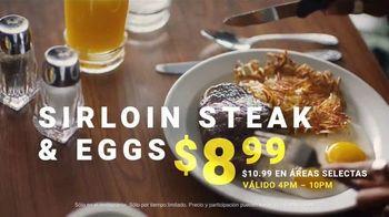 Denny's Sirloin Steak & Eggs TV Spot, 'Lo mejor de los dos mundos' [Spanish] - Thumbnail 7