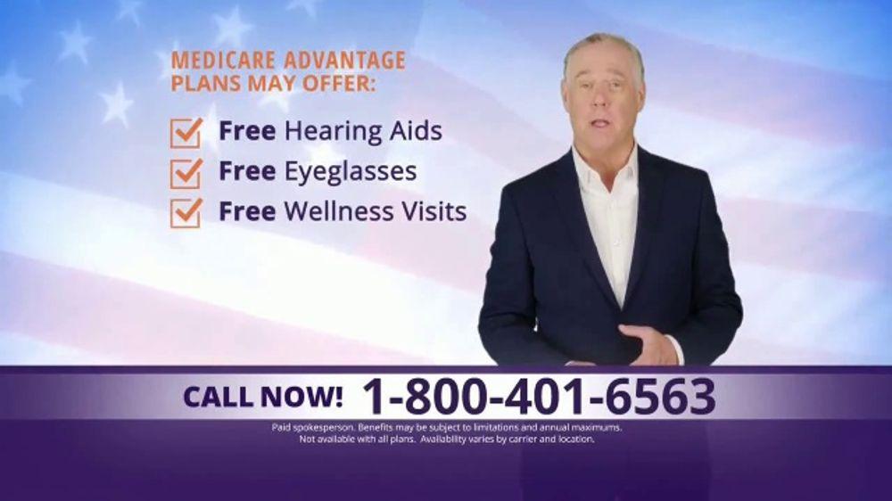 MedicareAdvantage.com TV Commercial, 'Additional Free Benefits'