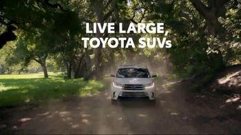 Toyota TV Spot, 'Dear Outdoors: Live Large' [T2] - Thumbnail 7