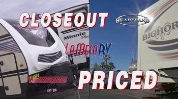 La Mesa RV TV Spot, 'Closeout Priced: 2020 Heartland Bighorn Traveler' - Thumbnail 2