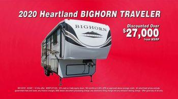 La Mesa RV TV Spot, 'Closeout Priced: 2020 Heartland Bighorn Traveler' - Thumbnail 4