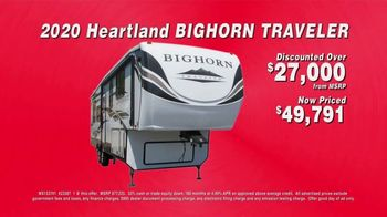 La Mesa RV TV Spot, 'Closeout Priced: 2020 Heartland Bighorn Traveler' - Thumbnail 5