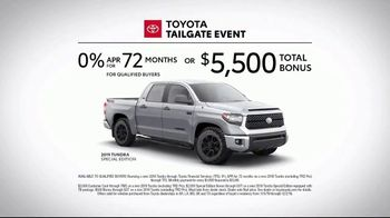 Toyota Tailgate Event TV Spot, 'Gritty' [T2] - Thumbnail 8