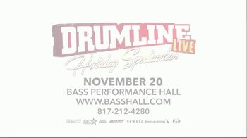 DRUMline Live Holiday Spectacular TV Spot, '2019 Fort Worth: Bass Performance Hall'