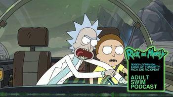 Adult Swim Podcast TV Spot, 'Rick and Morty Season Four Companion' - Thumbnail 1