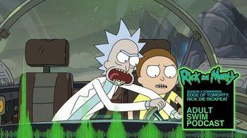 Adult Swim Podcast TV Spot, 'Rick and Morty Season Four Companion' - Thumbnail 2
