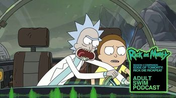 Adult Swim Podcast TV Spot, 'Rick and Morty Season Four Companion' - Thumbnail 4