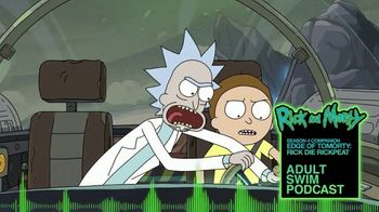 Adult Swim Podcast TV Spot, 'Rick and Morty Season Four Companion' - 116 commercial airings