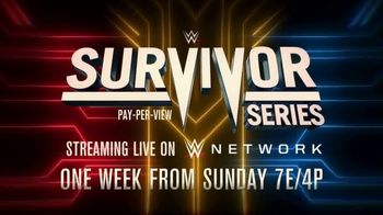 WWE Network TV Spot, 'Survivor Series: Women's Triple Threat Match' - Thumbnail 8