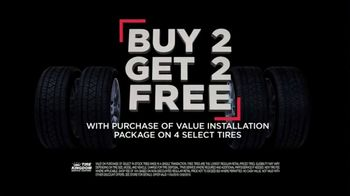 Tire Kingdom Black Friday Savings TV Spot, 'Buy Two, Get Two Free'