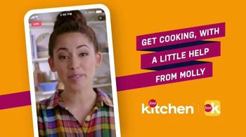 Food Network Kitchen App TV Spot, 'Help From Molly' - Thumbnail 2